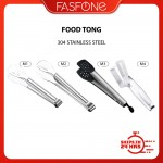 Multifunctional Kitchen Stainless Steel Food Tong Clip Double Sided Spatula Klip Restaurant Home Cooking Tools