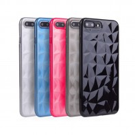 Diamond Shape TPU Soft Case for iPhone 6 6s 7 8 Plus X Xs XR Max