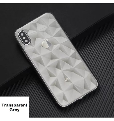 iPhone 6 6s Plus 7 Plus 8 Plus X Xs Max XR Diamond Shape TPU Soft Case