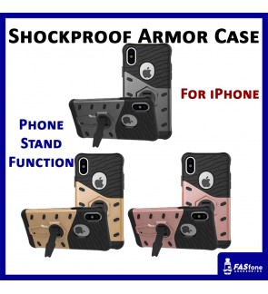 Apple iPhone X Shockproof Armor Sniper Hybrid Back Case Back Cover