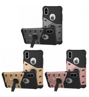 Shockproof Armor Sniper Hybrid Case for Apple iPhone X