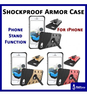 Apple iPhone 5 5S SE Shockproof Armor Sniper Hybrid Back Case Back Cover