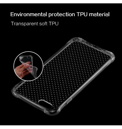 Air Bag Cushion Transparent Soft Case for iPhone 5 5S SE 6 6S Plus 7 8