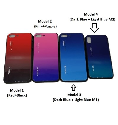 Gradient Glass TPU Case for Oppo R9s Plus R15 Pro F9 FInd X A59 A57 f1s A39