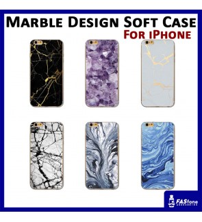Marble Design Tpu Soft Case for Apple iPhone 5 5s SE 6 6s Plus 7 8 X Xs