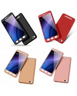 360 Degree Coverage Phone Slim Hard Cover for Redmi 4A 4X