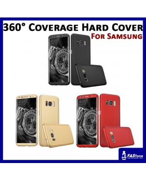 360 Degree Coverage Phone Slim Hard Cover Samsung Galaxy S7 Edge S8 Plus Note 8