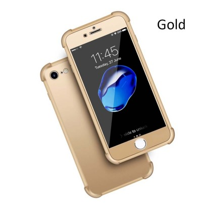 360 Degree Coverage Phone Slim Soft Cover for Apple iPhone 5 5s 6 6s 7 8 Plus