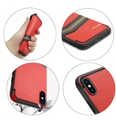 Fashion Luxury Leather Soft Back Cover for Apple iPhone 6 6S 7 8 Plus X Xs