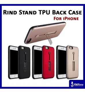 Multi Purpose Rind Stand PC TPU Back Case Apple iPhone 5 5s SE 6 6s 7 8 Plus X