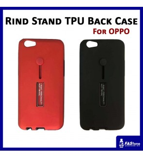 Multi Purpose Rind Stand PC TPU Back Case for OPPO R9s A37 A59 A77 F1s F3 F5