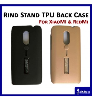 Multi Purpose Rind Stand PC TPU Back Case for Mi A1 Redmi Note 4x 5 Plus 5A