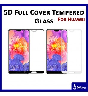 5D Full Tempered Glass Huawei P20 Pro Nova 2i 3E Mate 10 Pro Honor 9 Lite 3 Play