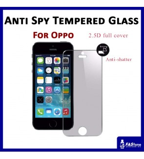 Oppo R9s Privacy Anti Spy tempered glass screen protector