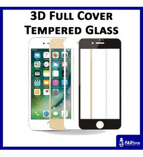 3D Full Cover Tempered glass for iPhone 6 6S Plus 7 8 Plus X Xs