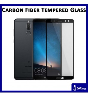 Carbon Fiber Full Cover Tempered Glass Screen Protector Huawei Nova 2i HONOR 7X