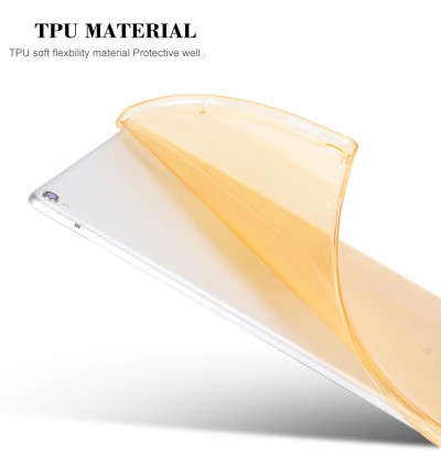 TPU Soft Cover for Apple iPad Pro 9.7 and 10.5 inches (5 Colors)