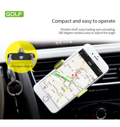 360 Golf Air Outlet Vent Car Holder Mount Original
