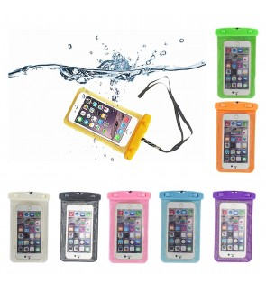 Universal Waterproof Bag for iPhone Android Device Smartphones (7 Colors)