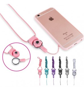 Mobile Phone / Devices Neck Strap Lanyard (10 Colors)