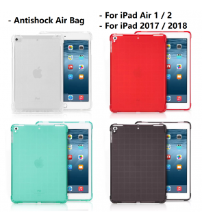 iPad Air 9.7 10.5 1 2 2017 2018 2019  Mini 2 3 4 5 Air Bag Anti Shock Back Case Cover