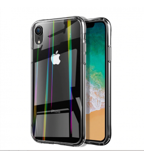 Apple IPhone 6 6s 7 8 Plus X Xs Max XR Rainbow Twilight Back Case TPU PC