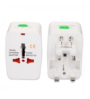 Universal Travel Adapter Electrical Plug International (2 units)