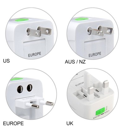 Travel Adapter Universal Adapter Charger Adapter Dual USB
