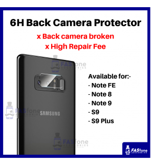 HD Samsung Note 8 9 FE S9 Plus Back Camera Tempered Glass Protector 6H