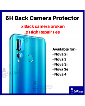 HD Huawei Nova 2i 3 3i 3e 4 Back Camera Tempered Glass Protector 6H