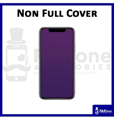 iPhone 11 Pro Max 6 6s 5 5s 8 7 Plus X Xs Max XR Tempered Glass Screen Protector Purple Ray Matte