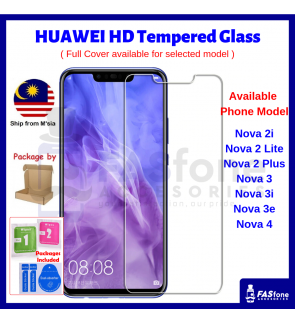 Huawei Nova 2 2i Lite Plus 3 3i 3e 4 4E 5T 7I Tempered Glass Protector