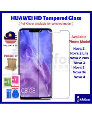 Huawei Nova 2 2i Lite Plus 3 3i 3e 4 4E Tempered Glass Protector
