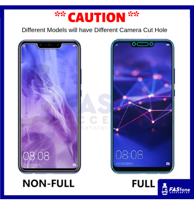 Vivo V15 PRO V17 PRO V9 V11 V11i Y85 Y91 Y91I Y95 X21 NEX Round Edge Tempered Glass Protector