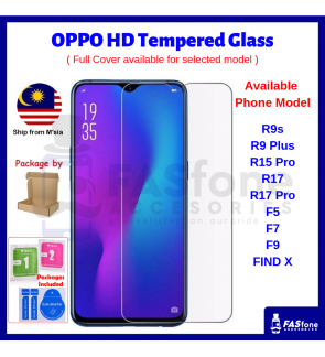 9H OPPO R7 R7S R9s R9 Plus R15 R17 Pro F5 F7 F9 F11 PRO FIND X Tempered Glass Protector