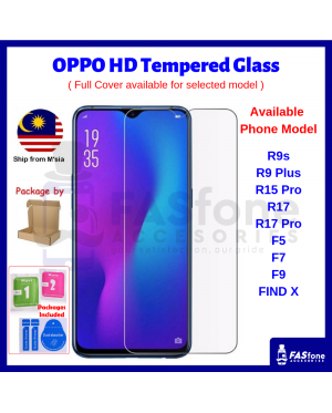 9H OPPO RENO 10X ZOOM R9s R9 Plus R15 R17 Pro F5 F7 F9 F11 PRO FIND X Tempered Glass Protector