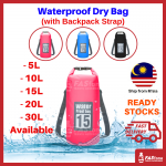 Outdoor Dry Bag Waterproof Storage Mobile Backpack 5L 10L 15L 20L 30L