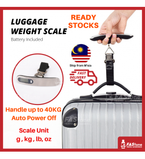 Luggage Scale Travel Scale Digital Scale Weight Scale Electronic Scale Hook 50kg