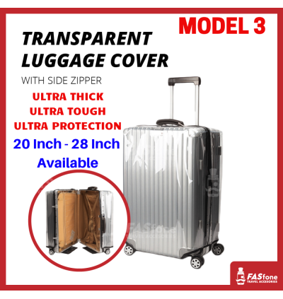 18 20 22 24 28 30 INCH Cover Luggage Protector Transparent PVC Usable Travel Suitcase