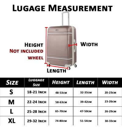 Elastic Luggage Suitcase Protective Cover Dust Proof Case Protector