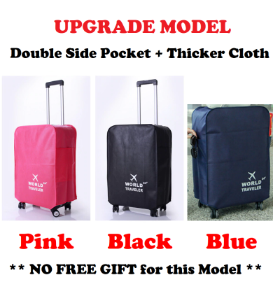 Luggage Protector Luggage Cover Luggage Suitcase Anti Scratch Pouch TRAVEL STAR 20 22 24 26 28 30 Inch