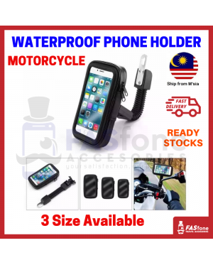 Motorcycle Mobile Phone Holder GPS Motor Rear View Mirror Mount Support Stand