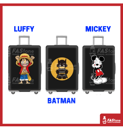 Luggage Protector Elastic Luggage Cover Luggage Suitcase Anti Scratch Dust Proof Luffy