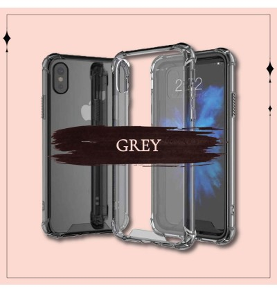 Air Bag Transparent TPU PC Back Case iPhone 5 5S SE 6 6S 7 8 Plus X Xs Max XR