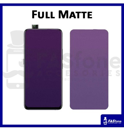 Vivo V17 PRO Y12 Y17 Y71 Y85 X21 NEX V7 V9 Plus Y81 V11 V11I V15 Full Cover Purple Tempered Glass