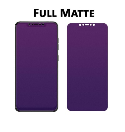 FULL HD CLEAR Matte Xiao Mi Mix 2 2s 3 Max 3 A2 Lite 6 8 9 Black Shark 2 Hello Full Cover Clear Matte Purple Ray Tempered Glass