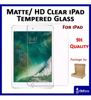 (Matte / HD Clear) Matte HD Clear iPad Mini 1 2 3 4 iPad 2 3 4 5 Air 1 2 3 Pro 9.7 10.2 Tempered Glass