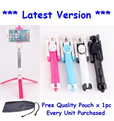 Bluetooth Selfie Stick Monopod Tripod iOS / Android (3 in 1)