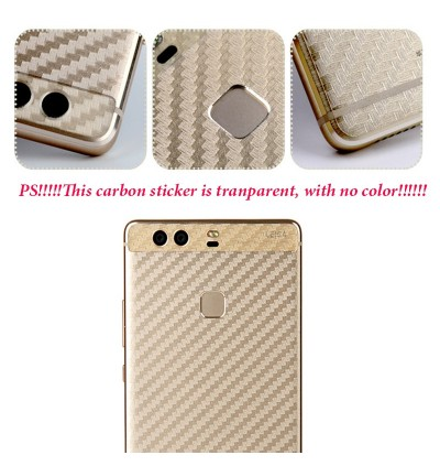 Carbon Fiber Back Sticker Honor 7x View 10 6X 9 Lite Note 10 Play