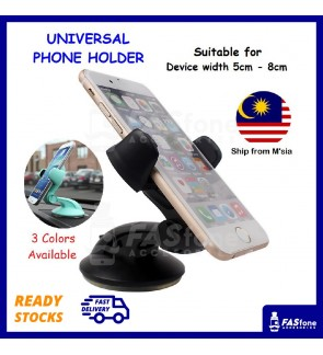 360 Universal Car Mount Bracket Dashboard Window Front Side Phone Device Holder